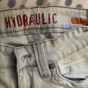 HYDRAULIC FLARED JEANS